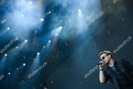 Editorial image of Mike and the Mechanics in concert, Berlin, Germany - 07 Jun 2019