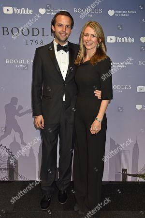 Charlie Gilkes and wife Anneke
