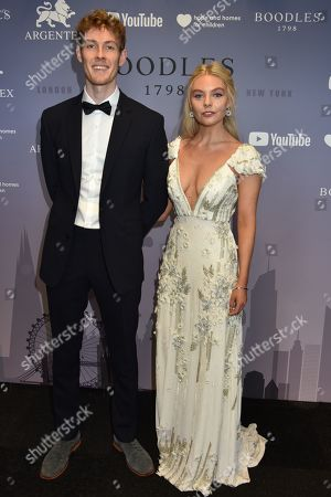 Nell Hudson and Brother Gabriel
