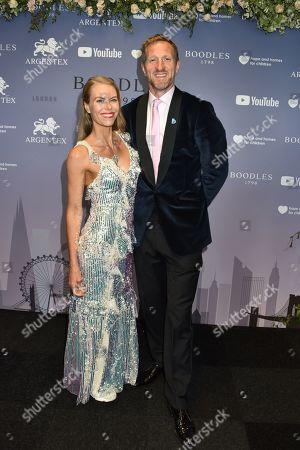 Will Greenwood and wife Caroline