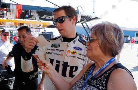 Editorial picture of NASCAR Michigan Auto Racing, Brooklyn, USA - 07 Jun 2019