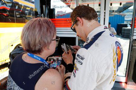 Editorial image of NASCAR Michigan Auto Racing, Brooklyn, USA - 07 Jun 2019