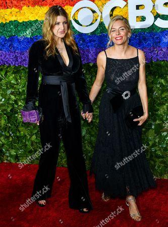 Tara Summers and Sienna Miller
