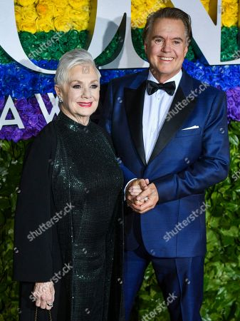 Stock Picture of Shirley Jones and Shaun Cassidy