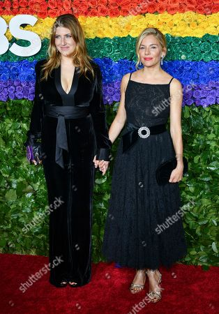 Stock Photo of Tara Summers and Sienna Miller