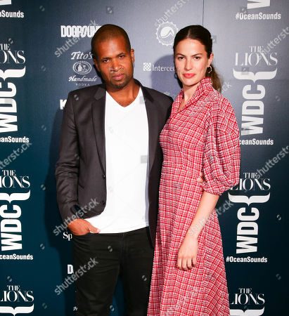 Damani Baker and Cameron Russell