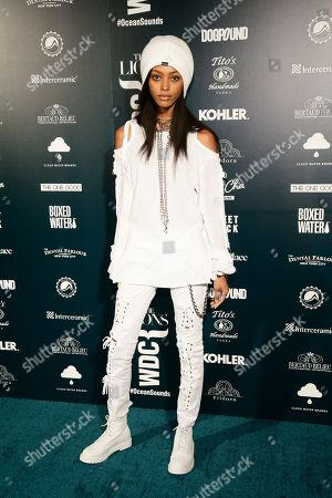 Editorial picture of The Lions Model Management World Oceans Day event, Arrivals, Spring Place, New York, USA - 08 Jun 2019
