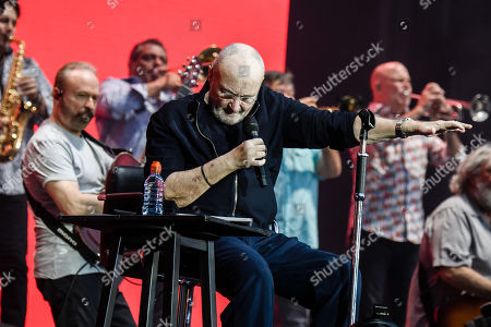 Editorial picture of Phil Collins in concert, Berlin, Germany - 07 Jun 2019