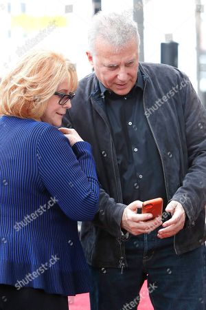 Ann-Margret (L) and US actor Paul Reiser at a ceremony honoring US actor Alan Arkin (unseen) with the 2665th star on the Hollywood Walk of Fame in Hollywood, Los Angeles, California, USA 07 June 2019. The star was dedicated in the Category of Motion Pictures.