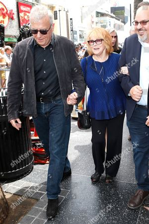Ann-Margret (C) and US actor Paul Reiser (L) at a ceremony honoring US actor Alan Arkin (unseen) with the 2665th star on the Hollywood Walk of Fame in Hollywood, Los Angeles, California, USA 07 June 2019. The star was dedicated in the Category of Motion Pictures.