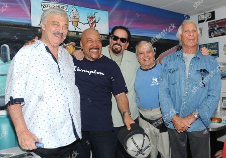 Jimmy Merchant, King Arthur, Jay Siegel and Joey Dee