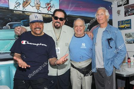 Stock Image of Jimmy Merchant, King Arthur, Jay Siegel and Joey Dee