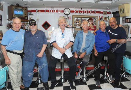 Joey Dee, Larry Chance, Vito Picone, Jay Siegel, Jimmy Moschello and Jimmy Merchant