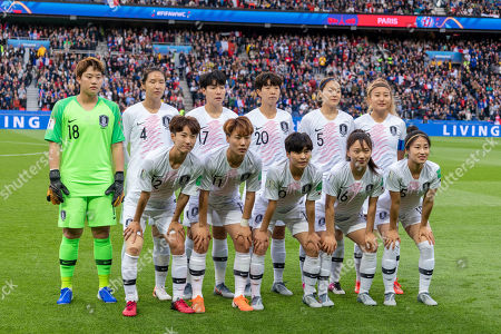 Editorial picture of France v Korea Republic, FIFA Women's World Cup 2019, Football, Parc des Princes, Paris, France - 07 Jun 2019