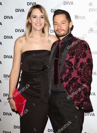 Jake Graf and Hannah Winterbourne