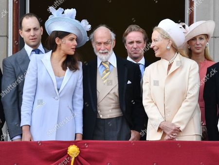 Lord Frederick Windsor and Sophie Winkleman, Prince Michael of Kent, Princess Michael of Kent