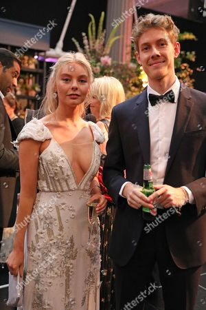 Nell Hudson and guest