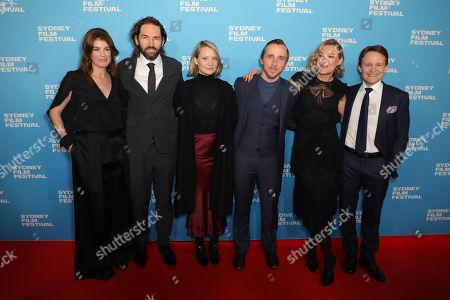 L-R: Michel Bennett, Nash Edgerton, Mia Wasikowska, Benedict Hardy, Mirrah Foulkes, Damon Herriman