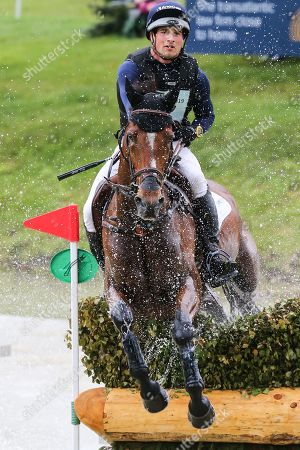 Stock Photo of Mr Sneezy ridden by James Avery in the Equi-Trek CCI-L4* Cross Country during the Bramham International Horse Trials 2019 at Bramham Park, Bramham
