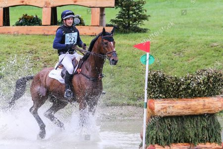 Stock Picture of Mr Sneezy ridden by James Avery in the Equi-Trek CCI-L4* Cross Country during the Bramham International Horse Trials 2019 at Bramham Park, Bramham