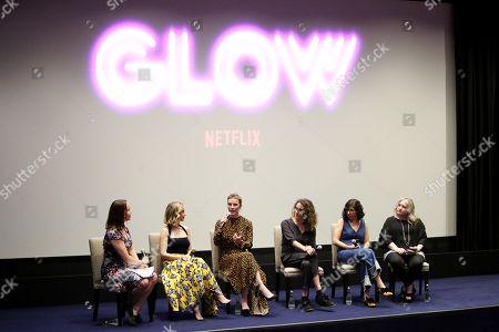Kristen Baldwin, Alison Brie, Betty Gilpin, Jennifer Euston, Liz Flahive, Carly Mensch