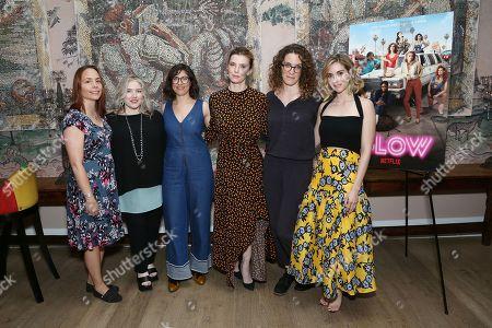 Kristen Baldwinm, Jennifer Euston, Carly Mensch, Betty Gilpin, Liz Flahive, Alison Brie