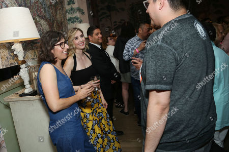 Carly Mensch, Alison Brie with Guests