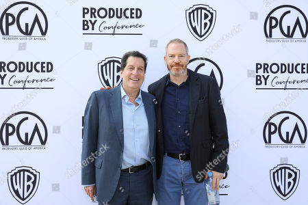 Peter Roth, Toby Emmerich. Peter Roth and Toby Emmerich attend the Produced By Conference at Warner Bros. Studios, in Burbank, California