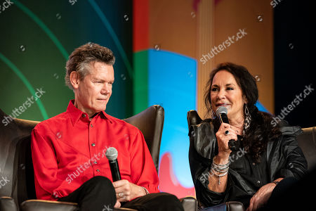 Randy Travis and Mary Travis