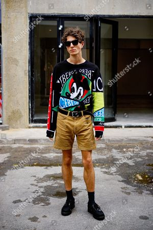Stock Picture of Street style on Ely's Yard, Old Truman Brewery, Brick Lane