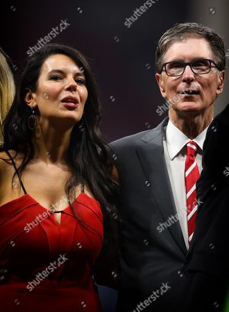 Liverpool FC owner John W Henry and wife, Linda Pizzuti Henry