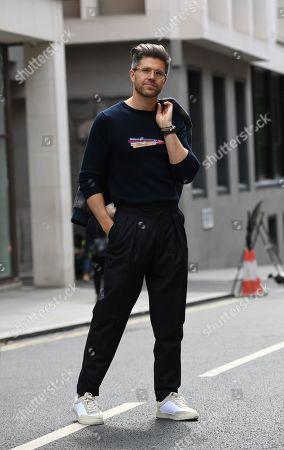 Darren Kennedy wears Street Style