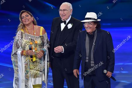 Romina Power, Pippo Baudo and Albano