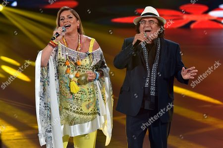 Romina Power and Al Bano