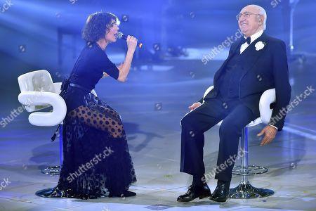 Giorgia and Pippo Baudo