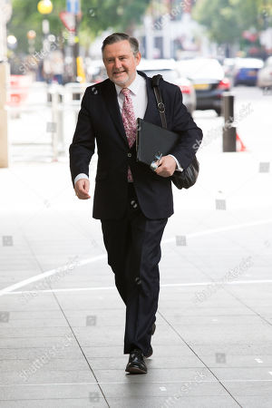 Barry Gardiner arrives at the BBC for the Andrew Marr Show
