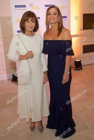 Stephanie Beacham and Jane Sharpe, CEO Rays of Sunshine Children's Charity