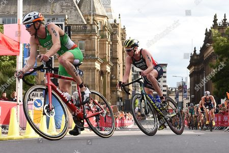 Editorial image of AJ Bell World Triathalon Leeds, ITU World Triathlon Series, UK - 09 June 2019