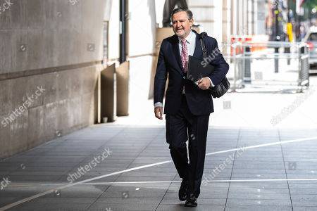 Shadow Secretary of State for International Trade Barry Gardiner arrives at BBC Broadcasting House to appear on The Andrew Marr Show.