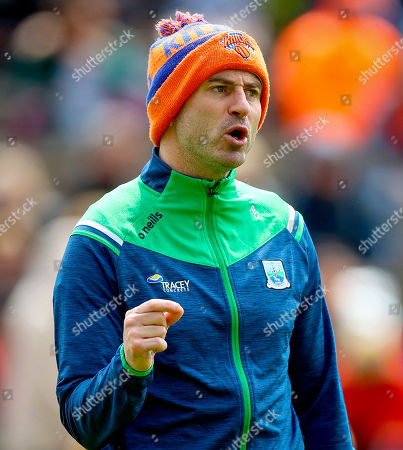 Monaghan vs Fermanagh. Fermanagh's manager Rory Gallagher ahead of the game