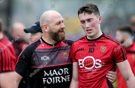Down vs Tipperary. Down's Conor Francis after the game