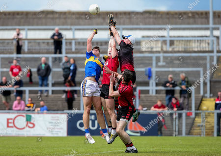 Editorial image of All-Ireland Senior Football Championship Qualifiers Round 1, Pairc Esler, Co. Down  - 09 Jun 2019