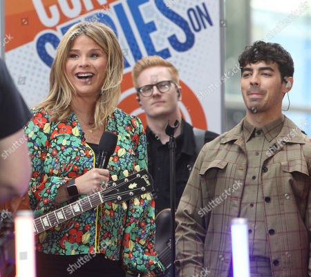 Jenna Bush and Joe Jonas