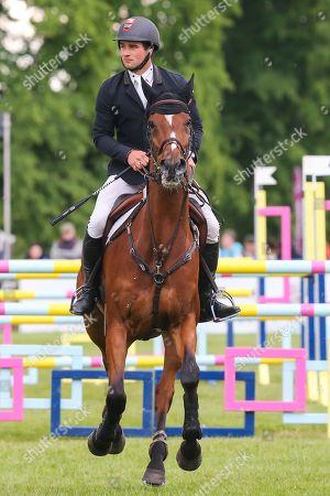 Mr Sneezy ridden by James Avery in the Equi-Trek CCI-4* Show Jumping during the Bramham International Horse Trials 2019 at Bramham Park, Bramham