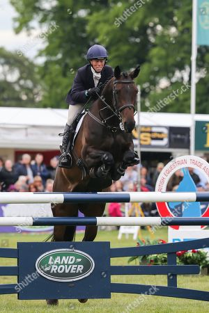 Stock Picture of Fallulah ridden by Emily Philp in the Equi-Trek CCI-4* Show Jumping during the Bramham International Horse Trials 2019 at Bramham Park, Bramham
