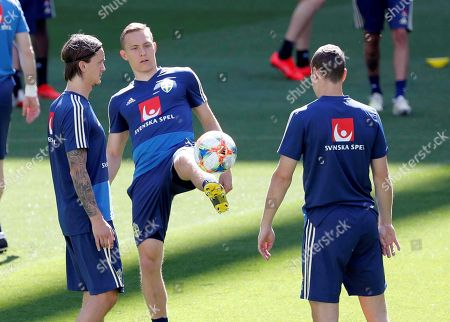 Editorial photo of SWEDEN TRAINING SESSION IN MADRID, Spain - 09 Jun 2019
