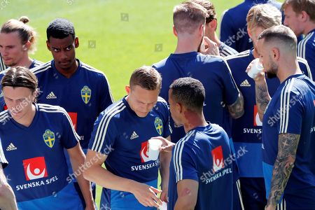 Editorial picture of SWEDEN TRAINING SESSION IN MADRID, Spain - 09 Jun 2019