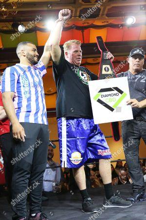 Editorial image of Celebrities boxing at the Showboat Casino, Atlantic City, USA - 08 Jun 2019