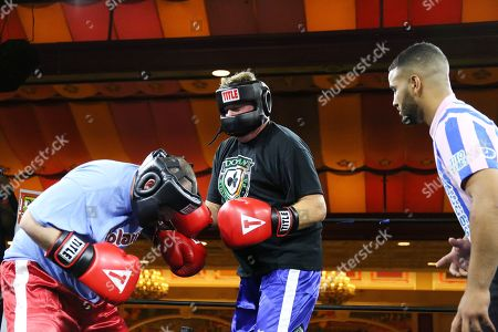 Editorial picture of Celebrities boxing at the Showboat Casino, Atlantic City, USA - 08 Jun 2019