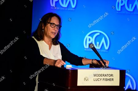 Lucy Fisher, president of Producers Guild of America, attends the second day of the Produced By Conference 2019 on in Burbank, Calif